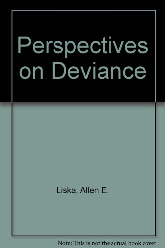 9780136603733: Perspectives on deviance