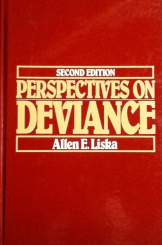 9780136604082: Perspectives on Deviance