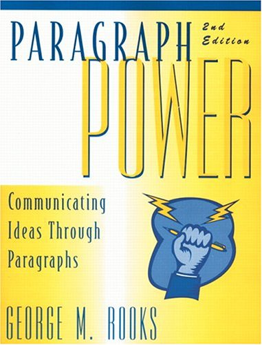 9780136607540: Paragraph Power: Communicating Ideas Through Paragraphs