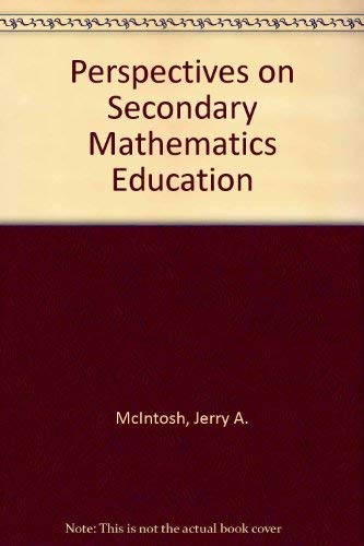 9780136607953: Perspectives on Secondary Mathematics Education