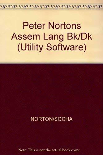 9780136621492: Peter Nortons Assem Lang Bk/Dk (Utility Software)