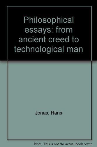 9780136622215: Philosophical essays: from ancient creed to technological man