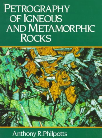 9780136623137: Petrography of Igneous and Metamorphic Rocks