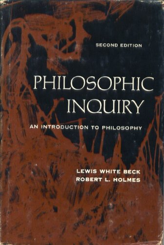 9780136624943: Philosophic Inquiry: Introduction to Philosophy