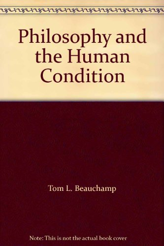 9780136625285: Philosophy and the Human Condition