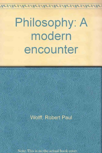 9780136633778: Philosophy: A modern encounter