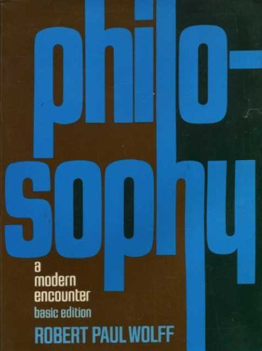 9780136634010: Philosophy;: A modern encounter