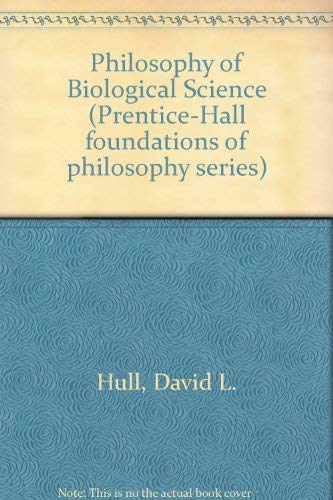 9780136636175: Philosophy of Biological Science (Prentice-Hall foundations of philosophy series)