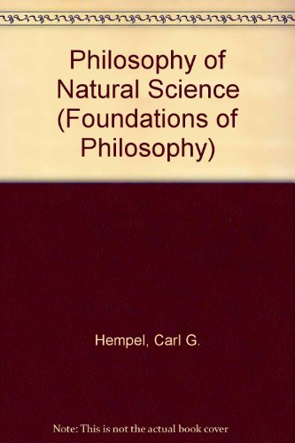 9780136637080: Philosophy of Natural Science (Foundations of Philosophy)