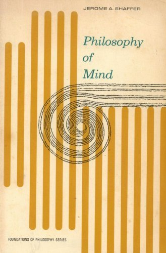 9780136637325: Philosophy of Mind (Foundations of Philosophy)