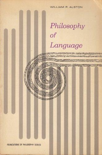 9780136637998: Philosophy of Language (Foundations of Philosophy)