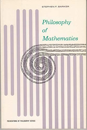 9780136638070: Philosophy of Mathematics (Foundations of Philosophy)