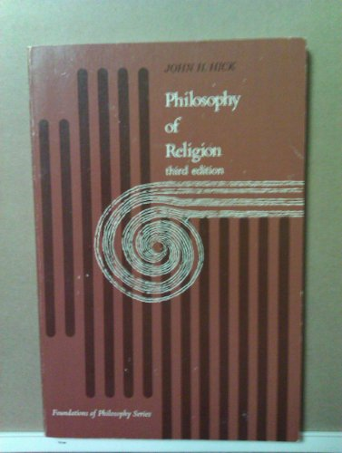 9780136639060: Philosophy of Religion (Foundations of Philosophy)