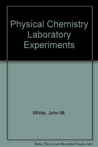 9780136659273: Physical Chemistry Laboratory Experiments