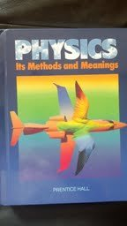 9780136668688: Physics: Its Method and Meanings