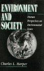 9780136690863: Environment and Society: Human Perspectives on Environmental Issues