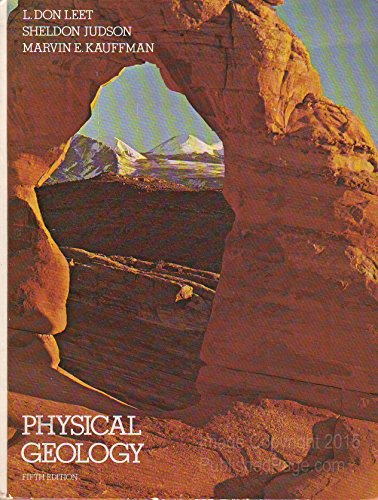Physical Geology: Judson, Sheldon; etc.