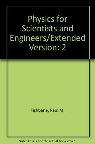 9780136730217: Physics for Scientists and Engineers/Extended Version: 2