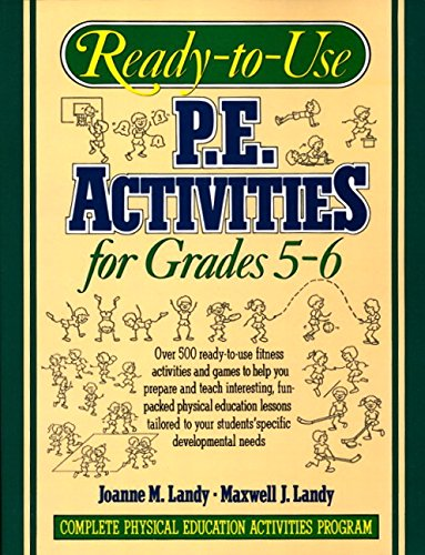 9780136730705: Ready-to-use P.E. Activities for Grades 5-6, Book 3