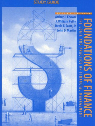 9780136733775: Foundations of Finance : The Logic and Practice of Financial Management (Study Guide)