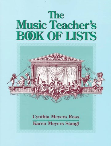 9780136735007: The Music Teacher's Book of Lists