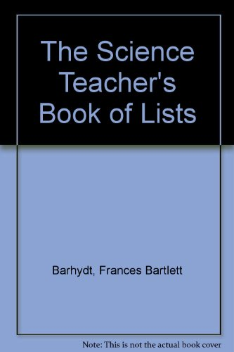 9780136735182: The Science Teacher's Book of Lists