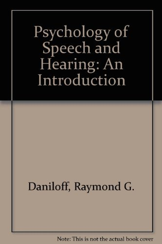 9780136747475: The Physiology of Speech and Hearing: An Introduction