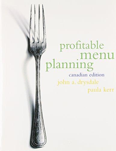 9780136750345: Profitable Menu Planning, Canadian Edition