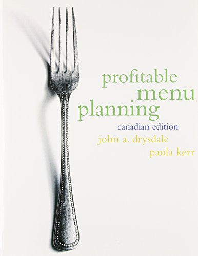 9780136750345: Profitable Menu Planning, Canadian Edition