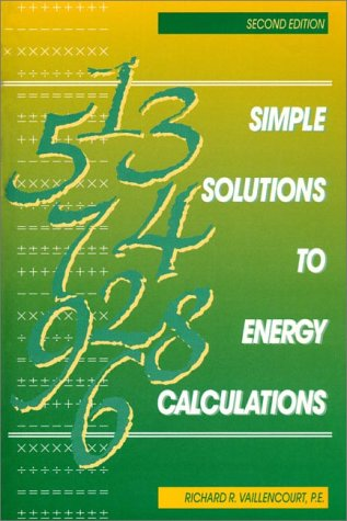 9780136750673: Simple Solutions to Energy Calculations (2nd Edition)