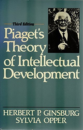 9780136751663: Piaget's Theory of Intellectual Development