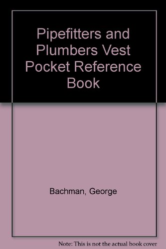9780136764601: Pipefitters and Plumbers Vest Pocket Reference Book