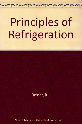9780136780380: Principles of Refrigeration