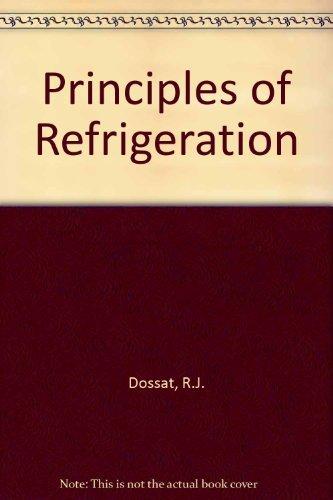 9780136780380: Principles of Refrigeration