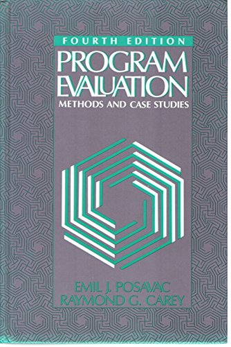 9780136781295: Program Evaluation: Methods and Case Studies