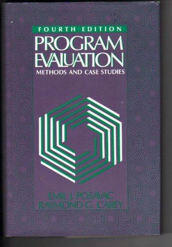 9780136781295: Program Evaluation: Methods and Case Studies