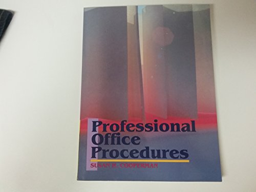 9780136781943: Professional Office Procedures