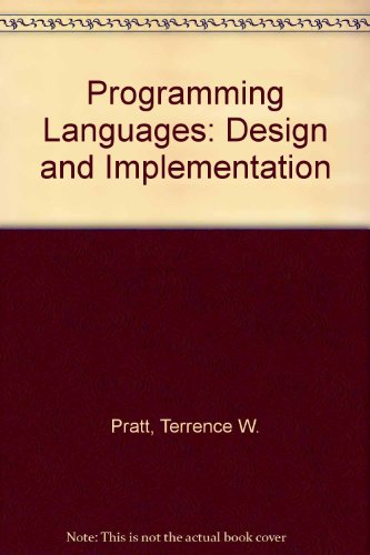 9780136785330: Programming Languages: Design and Implementation