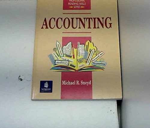 9780136787310: Accounting (Professional Reading Skills)