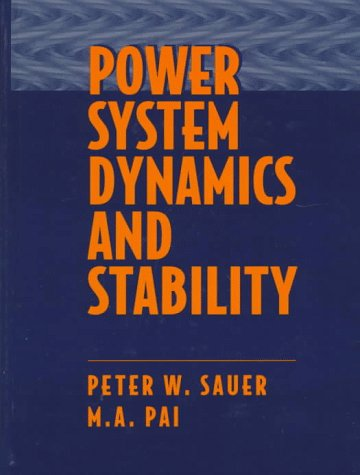 9780136788300: Power System Dynamics and Stability