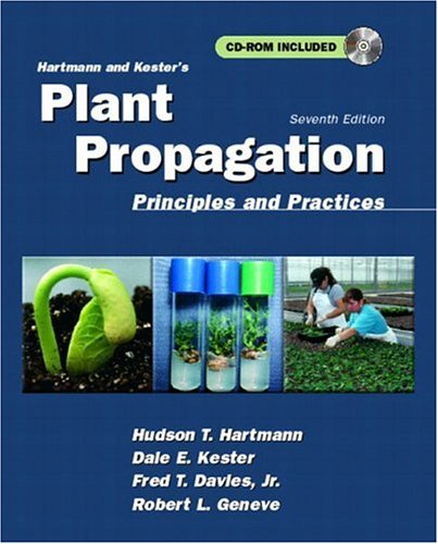 9780136792352: Hartmann and Kester's Plant Propagation: Principles and Practices (Book & CD)