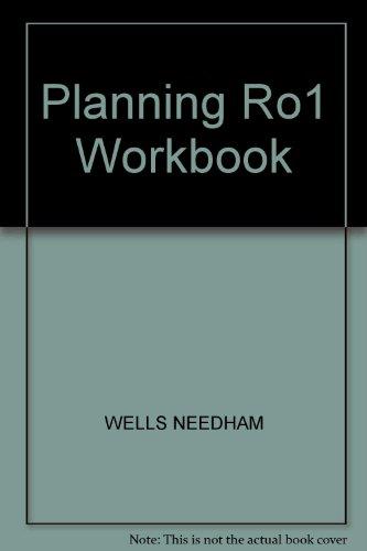 9780136794738: Planning Ro1 Workbook