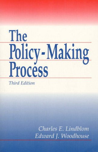 9780136823605: Policy Making Process, The (3rd Edition)