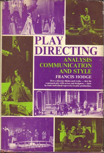 9780136828150: Play Directing: Analysis Communication and Style