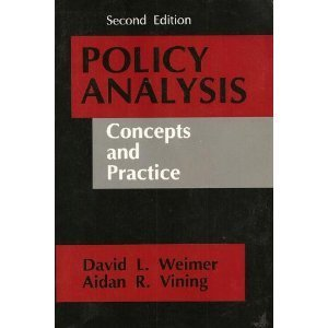9780136831457: Policy Analysis: Concepts and Practice