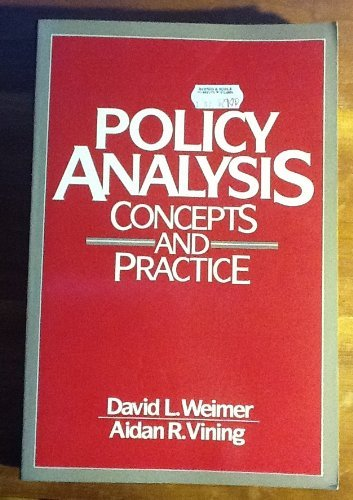 9780136840442: Policy Analysis: Concepts and Practice