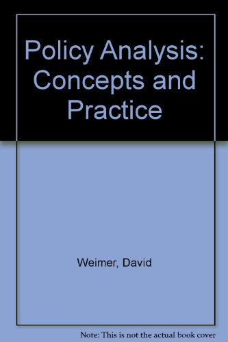 9780136841845: Policy Analysis: Concepts and Practice