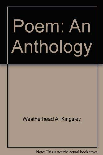 9780136844310: Poem: An Anthology