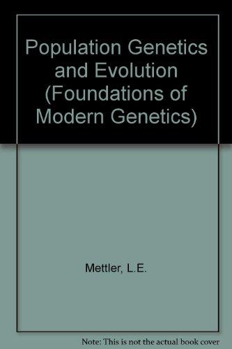 9780136852971: Population Genetics and Evolution (Foundations of Modern Genetics)
