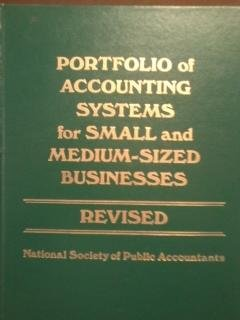 9780136853053: Portfolio of accounting systems for small and medium-sized businesses